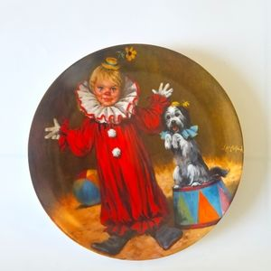 Other - Tommy the Clown plate